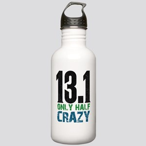 halfmarathonhalfcrazy Stainless Water Bottle 1.0L