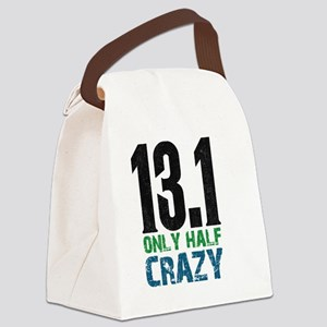 halfmarathonhalfcrazy Canvas Lunch Bag