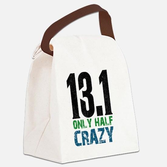 halfmarathonhalfcrazy Canvas Lunch Bag