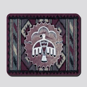 Purple Thunderbird Mousepad
