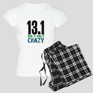 half marathon half crazy Women's Light Pajamas
