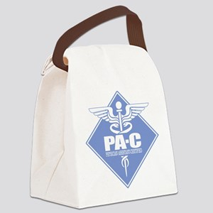 PA-C (diamond) Canvas Lunch Bag