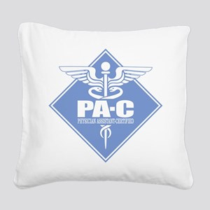 PA-C (diamond) Square Canvas Pillow