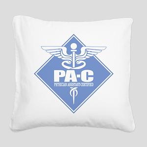 PA-C (diamond) Square Canvas Pillow