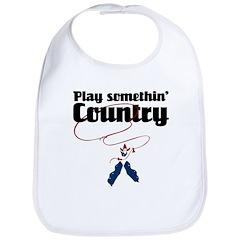 Somethin' Country Bib