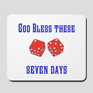 Seven Days Christian Kane Mousepad