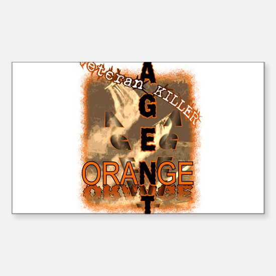Agent Orange Decal