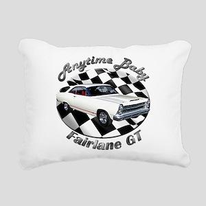 Ford Fairlane GT Rectangular Canvas Pillow