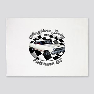Ford Fairlane GT 5`x7`Area Rug