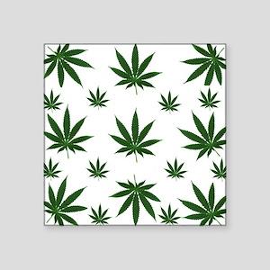 Stoned 420 Leaf Print Sticker