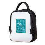 animal_flag_final in color Neoprene Lunch Bag