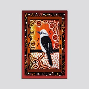Kookaburra Dreaming  Rectangle Magnet