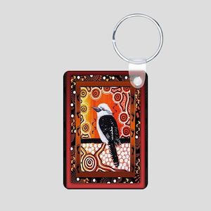 Kookaburra Dreaming  Aluminum Photo Keychain