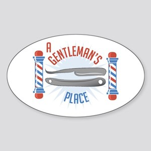 Gentlemans Place Sticker