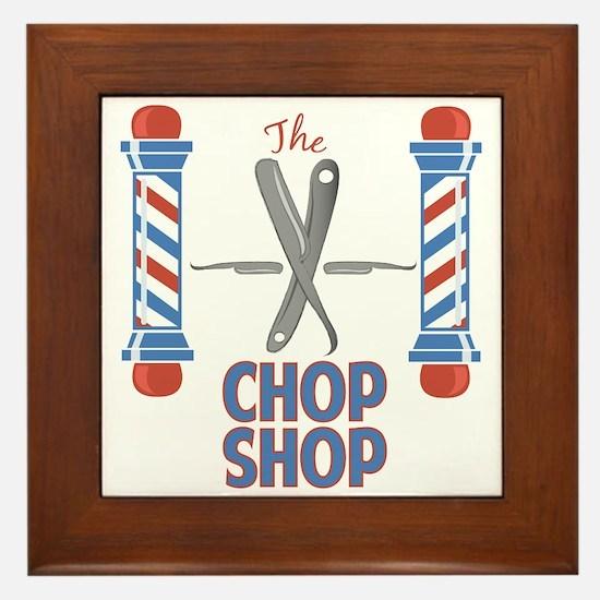 Chop Shop Framed Tile
