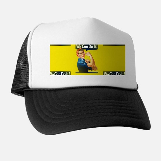 rosie the riveter Trucker Hat