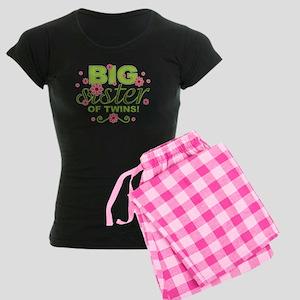 Big Sister of Twins Women's Dark Pajamas