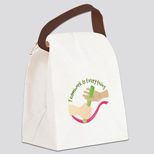 Teamwork Canvas Lunch Bag