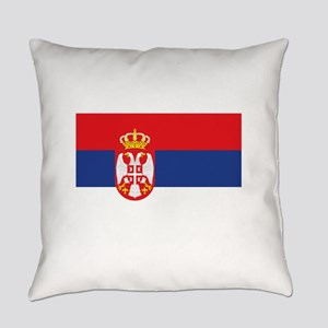 Serbia Everyday Pillow