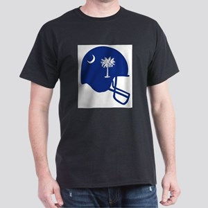 South Carolina State Flag Football Helmet T-Shirt