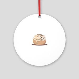 Cinnamon Bun Round Ornament