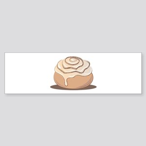 Cinnamon Bun Bumper Sticker