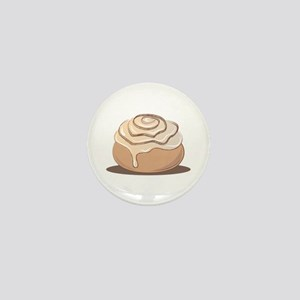 Cinnamon Bun Mini Button