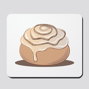 Cinnamon Bun Mousepad