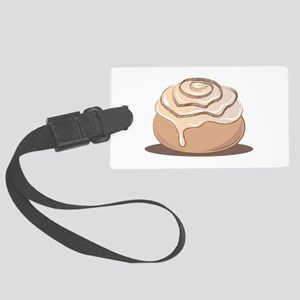 Cinnamon Bun Luggage Tag