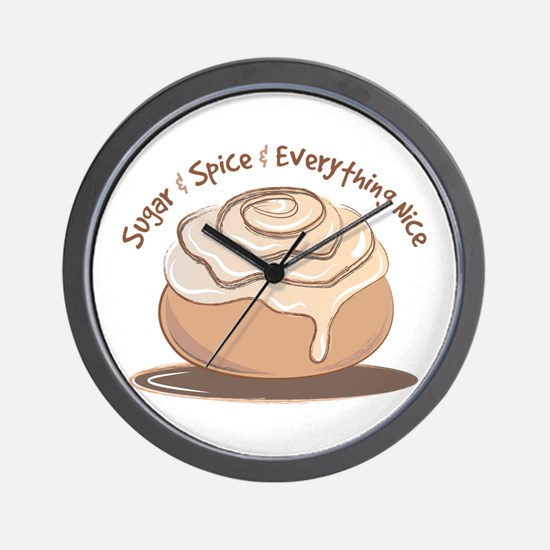 Sugar & Spice Wall Clock