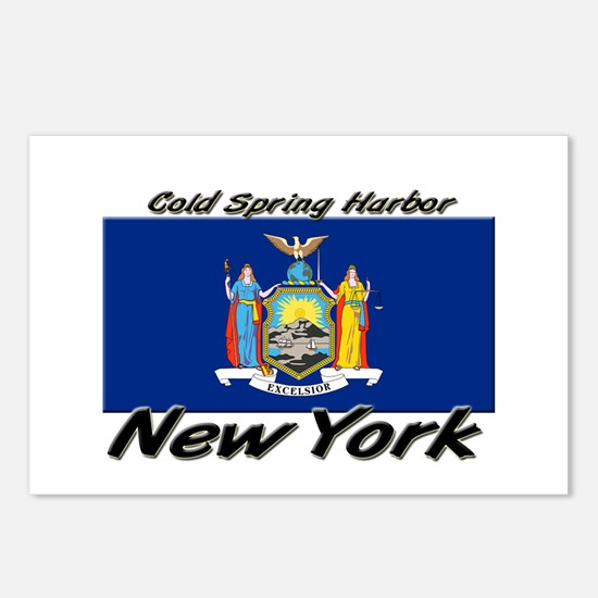 Cold Spring Harbor New York Postcards (Package of