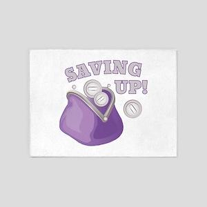 Saving Up 5'x7'Area Rug