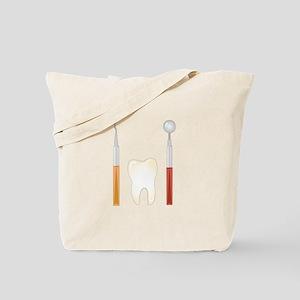 Dentist Tools Tote Bag