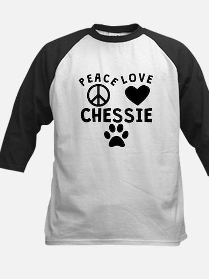 Peace Love Chessie Baseball Jersey