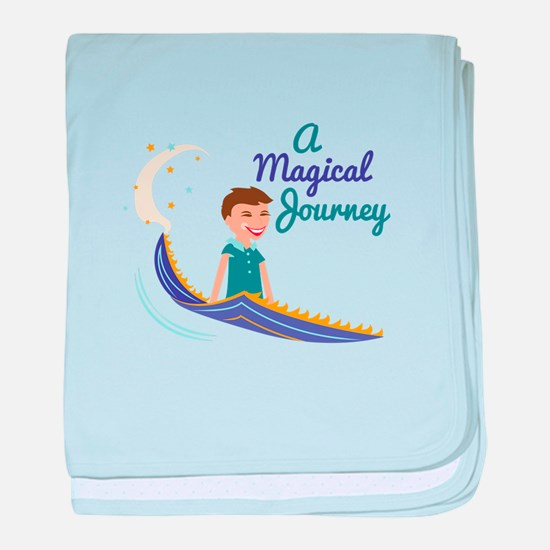 Magical Journey baby blanket