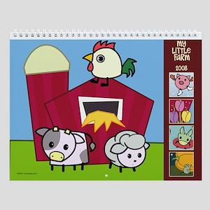 Little Farm Wall Calendar