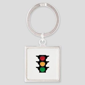 Traffic Light Keychains
