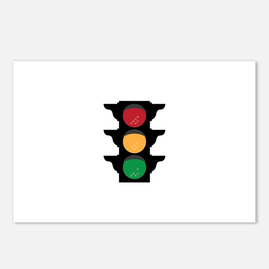 Traffic Light Postcards (Package of 8)