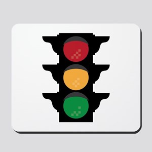 Traffic Light Mousepad