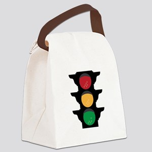 Traffic Light Canvas Lunch Bag