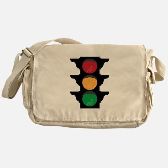 Traffic Light Messenger Bag