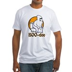BOO-doo Fitted T-Shirt