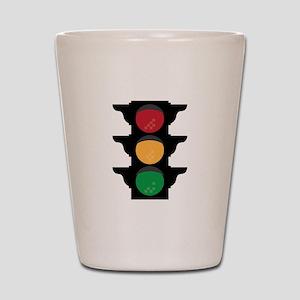Traffic Light Shot Glass