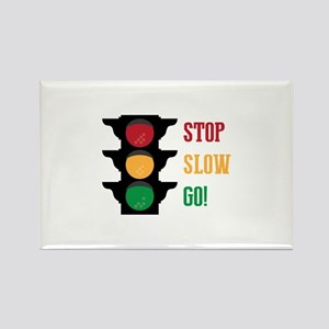 Stop Slow Go Magnets