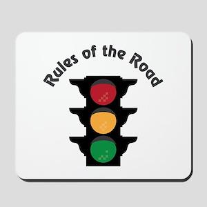 Rules Of Road Mousepad