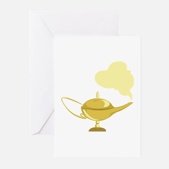 Magic Lamp Greeting Cards