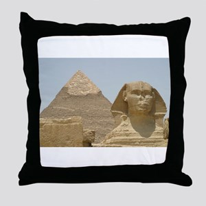 Ancient Egypt Collection Throw Pillow