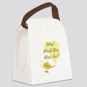 What You Wish Canvas Lunch Bag