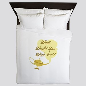 What You Wish Queen Duvet