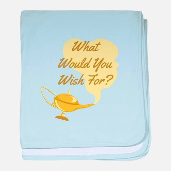 What You Wish baby blanket